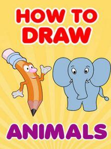 幼儿绘画教程 如何画动物
