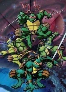 忍者神龟 英文版