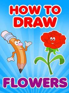 幼儿绘画教程 如何画花