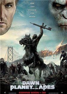 猩球崛起2:黎明之战背景图