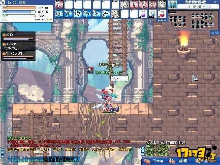 横版游戏 彩虹岛
