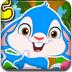 复活节兔子接彩蛋